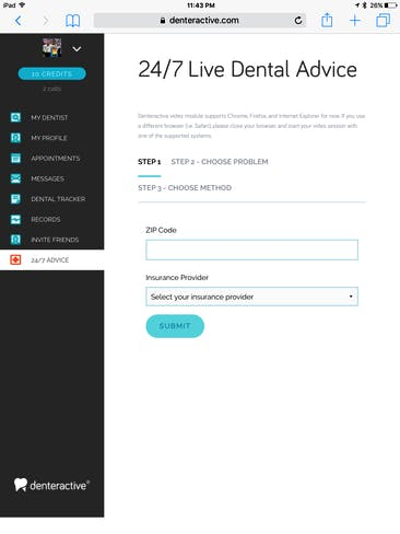 ask a dentist a question online for free